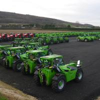 Used Merlo Manitou Contract Hire Specialist Telehandler for