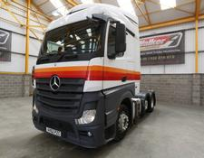 MERCEDES ACTROS 2545 EURO 5 STREAMSPACE 6 X 2 TRACTOR UNIT - 2012 - AV62 PZC