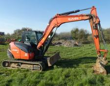 Kubota kx080 4 tracled digger 2015 done 2850 hours
