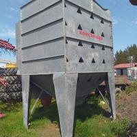 Used Kongskilde Grain bins and conveyor systems for sale