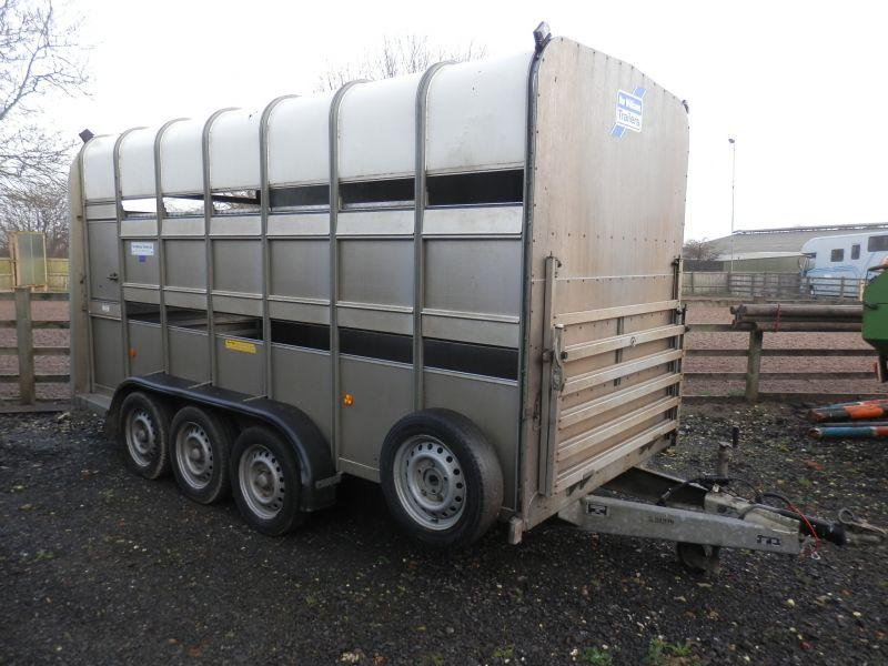 Ifor Williams 14' CATTLE TRAILER