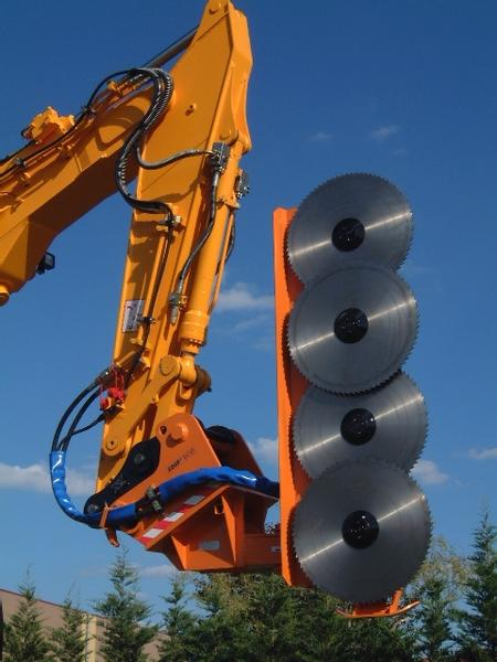 CIRCULAR SAWS FOR EXCAVATORS & DIGGERS