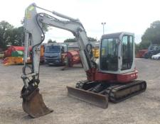 Takeuchi TB153FR 5T reduced tail swing