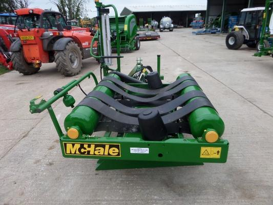 McHale  991 LBER MOUNTED BALE WRAPPER