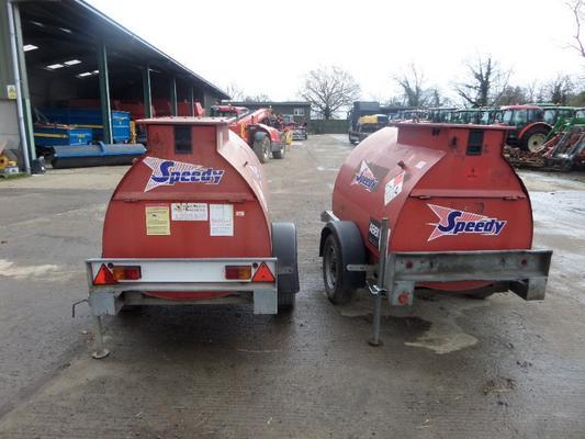Other WESTERN ABBI 950 LITRE BUNDED FUEL BOWSER
