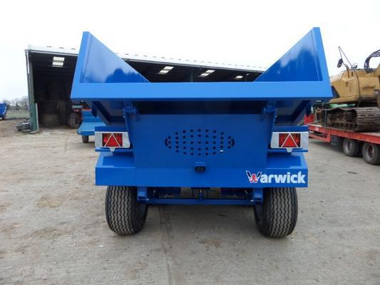 Other WARWICK 10 TONNE HIGH DUMP TRAILER