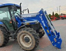 Metal-Technik Frontlader für NEW HOLLAND TL 90 / Ładowacz czołowy na NEW HOLLAND TL 90
