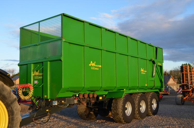 AW 20T TRAILER GRAIN/SILAGE 11010243