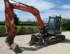 Hitachi ZAKIS 85USB TRACKED DIGGER