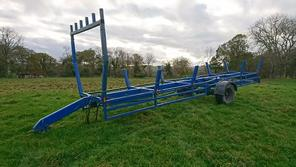 POLE CARRYING TRAILER