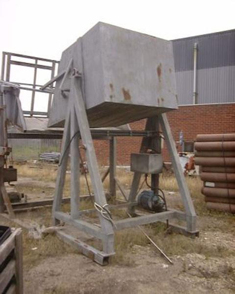 Dolav box tipler, galvanised steel frame 3ph