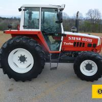 Used Steyr 8090 A T SK 2 (KK) Tractors for sale - classified