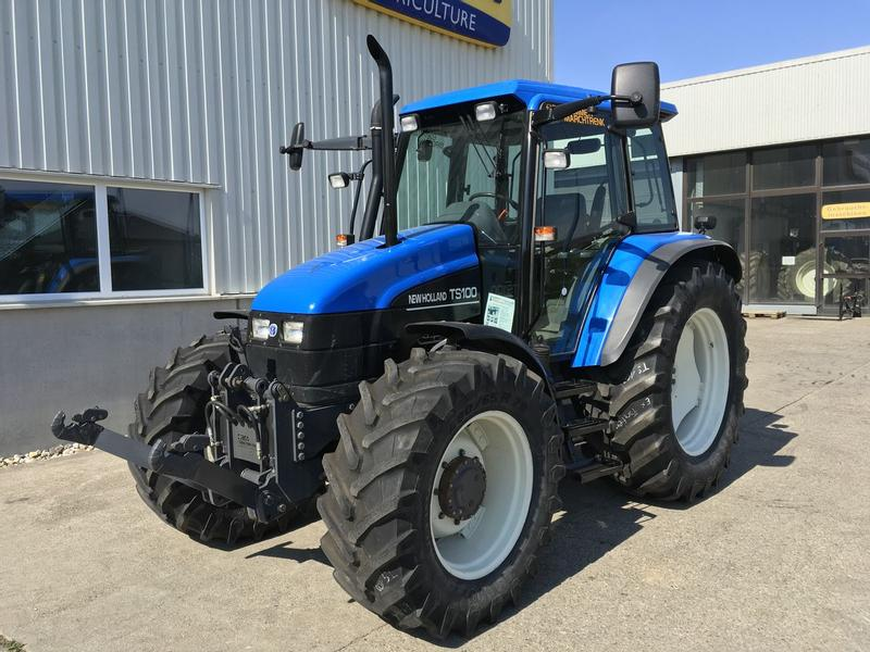 Atemberaubend New Holland TS 100 ElectroShift Tractors Used in 5274 Burgkirchen #LE_95