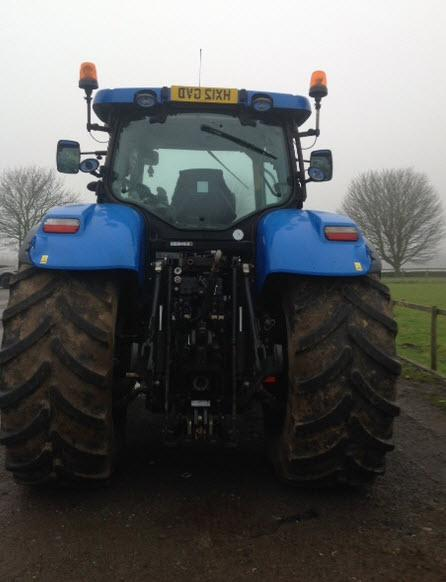New Holland T7260, 2012 registered