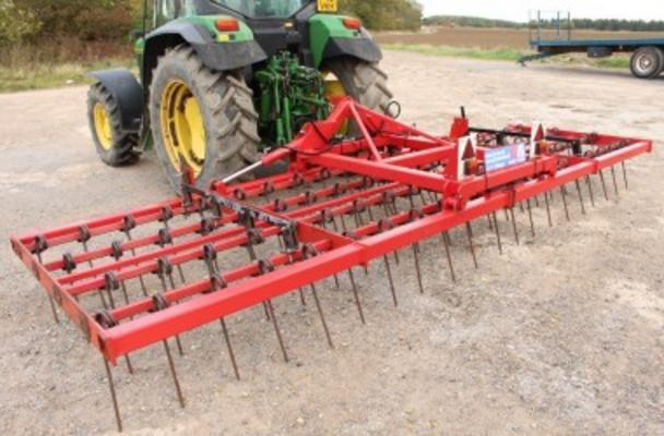 Other WEAVING 6M HYDRAULIC FOLDING STUBBLE RAKE