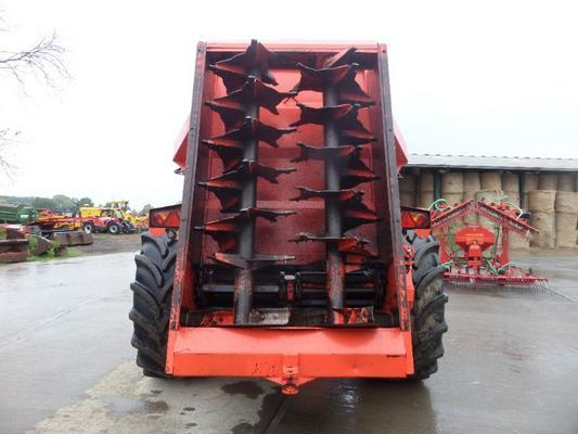 Other K TWO DUO 1200 MK5 REAR DISCHARGE MUCK SPREADER