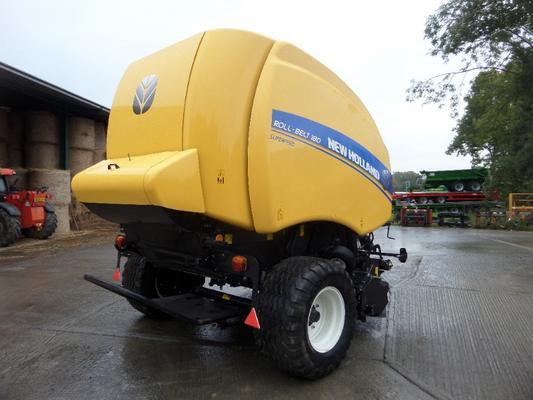 New Holland  ROLL BELT 180 ROUND BALER