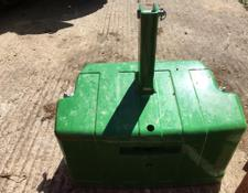 John Deere 1500KG big pack weight