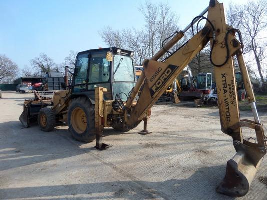 Ford  655C SPECIAL XTRA-VATOR BACKHOE LOADER