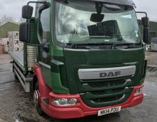 Daf 12 ton with a EURO 6 engine