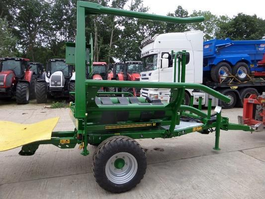 McHale  991BE TRAILED BALE WRAPPER
