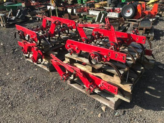 used 6m system agrilla tines for vaderstad rapid a600s.