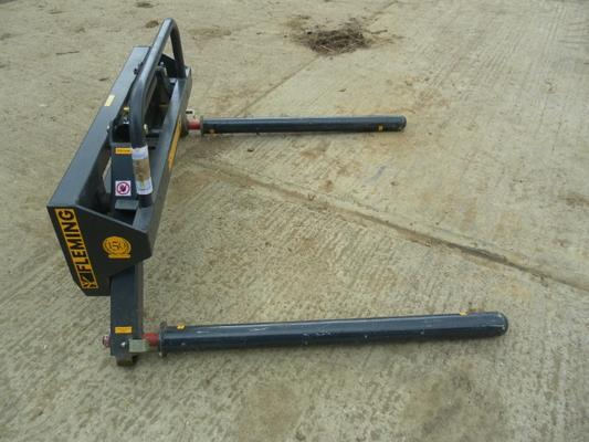 Other FLEMING ROUND BALE STACKER/DOUBLE SPIKE