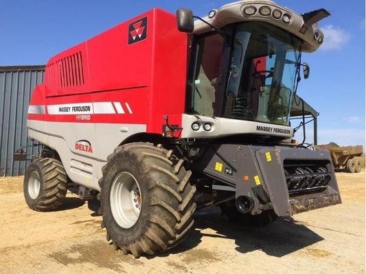 Massey Ferguson 9280 DELTA COMBINE C/W 30FT POWER FLOW HEADER, STRAW CHOP
