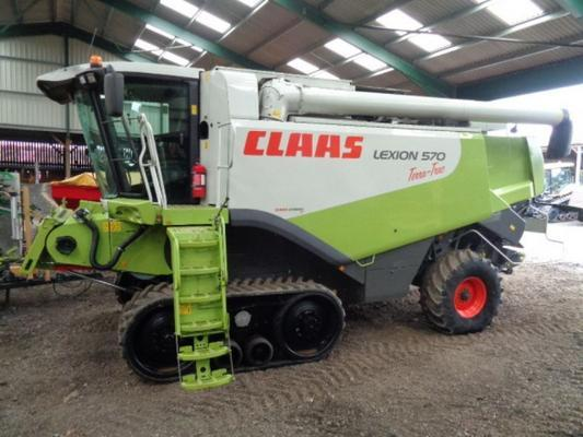 Claas Used  Lexion 570 Terra-Trac Combine