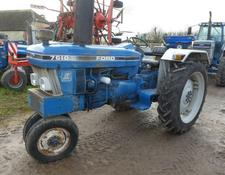 Ford 7610 2wd row crop tractor
