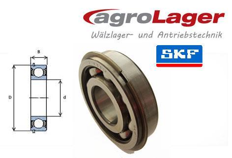 SKF 6206//C3 Rillenkugellager