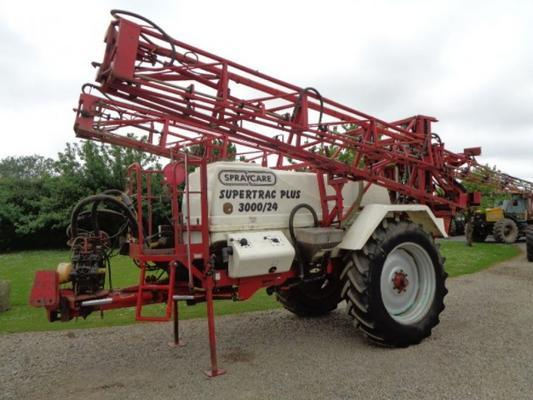 Used Spraycare Supertrac Plus 24M Trailed Sprayer