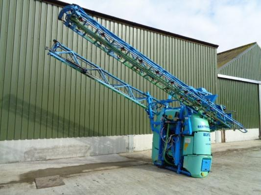 Used Berthoud 24M Elyte Mounted Sprayer
