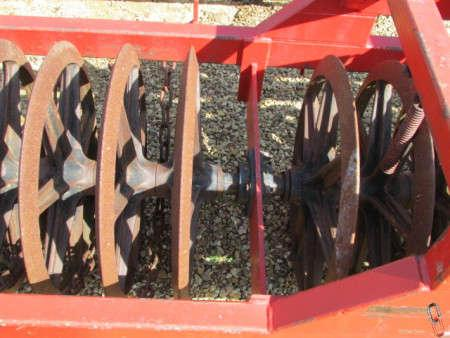 FARMFORCE 4 metre Front Press, steering headstock