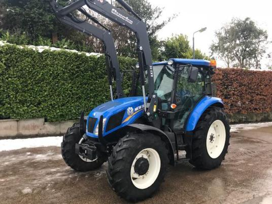 New Holland TD5.95 cw  New Quicke Loader