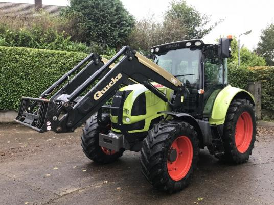 Claas Arion 510 'CIS' c/w Q55 Loader