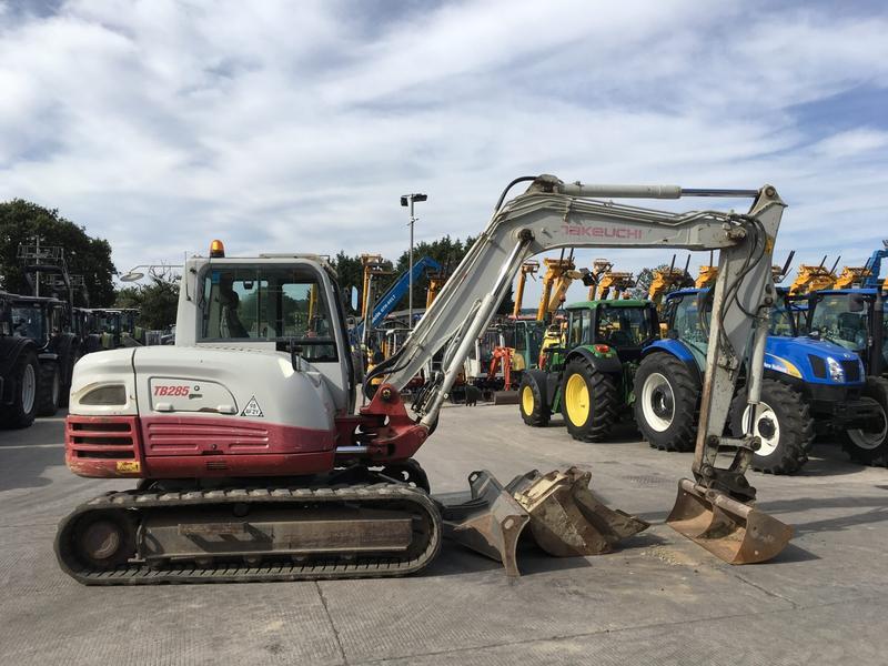 hanix h75c mini excavator service and parts manual