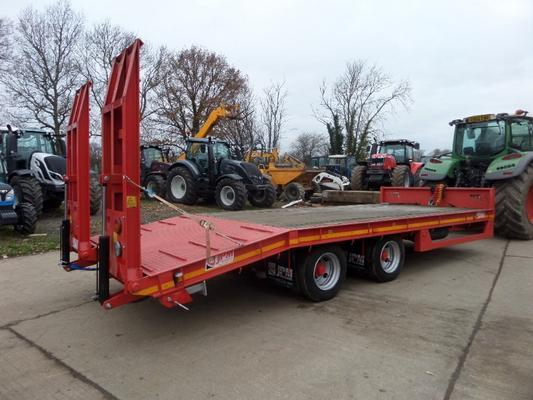 Commercial JPM 22FT  DRAW BAR TRAILER