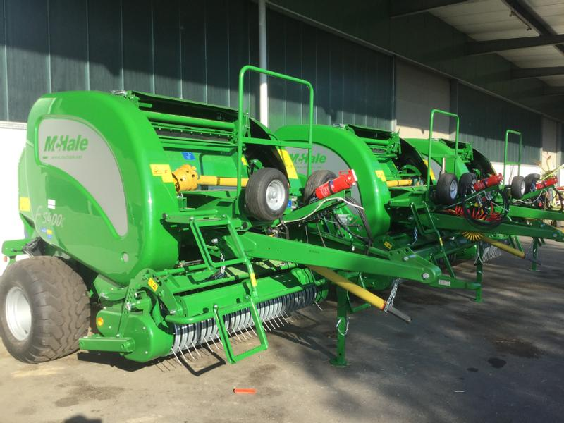McHale F 5400C Balers Used In Germany 4146378