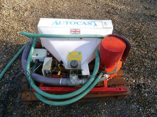 Techneat Autocast Granular Applicator/Seeder Unit