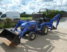 Iseki th4335 4wd compact tractor