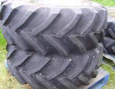 Shop soiled pair of 460/70 R24 tyres to suit Lamborghini for sale