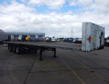 Schmitz Cargobull 45FT FLATBED TRAILER - 2003 - C134331