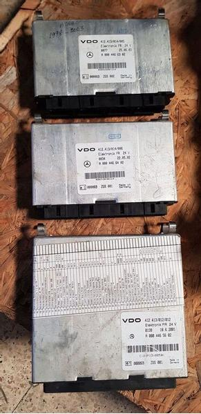 Mercedes-Benz ECU FR Mercedes A 0004466302 / A0004466402 / A0004465602
