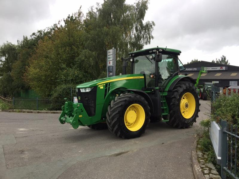 John Deere For Sale >> John Deere 8345r For Sale Tractors Used In Sy15 6tq Powys Uk