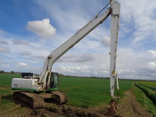 Used Hitachi Zaxis 280 Lc-3 Long Reach Excavator