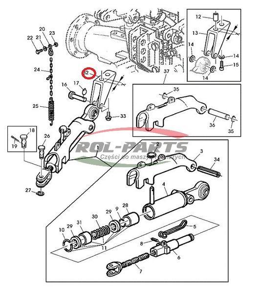 John Deere 355d Fuel Pump