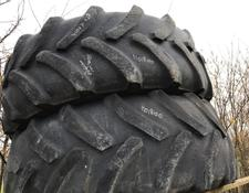 pair of Goodyear tyres 420 x 70 x R28 (10%)