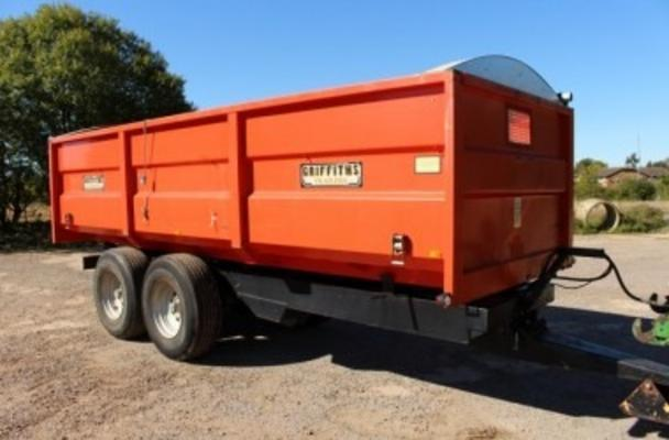 Other 1992 GRIFFITHS GPR-120 12 TON GRAIN TRAILER