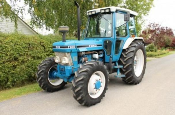 Ford 1989  7810 II 4WD TRACTOR